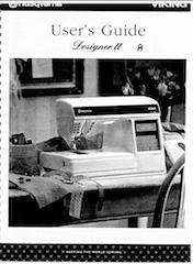 Husqvarna Viking Designer II User Manual