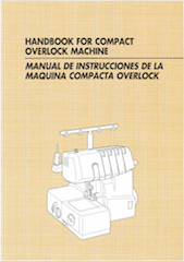 Brother 1034D 1134DW Serger Overlocker User manual